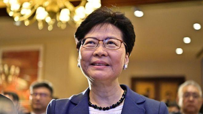 Bà Carrie Lam vẫn được chính quyền Trung Quốc tin tưởng
