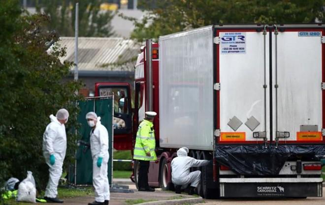39 thi thể được tìm thấy trong xe tải ở Anh nhiều khả năng là người Trung Quốc