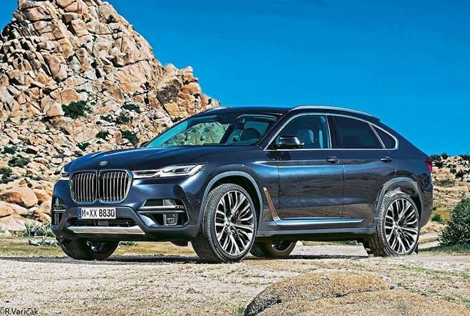 BMW X8 sẽ là dòng SUV lai coupe dựa theo X7