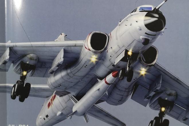 Loại tên lửa đạn đạo phóng từ trên không của Trung Quốc lắp dưới bụng máy bay H-6N