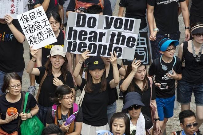 Biểu tình ở Hồng Kông chưa có dấu hiệu hạ nhiệt sau nhiều tháng diễn ra