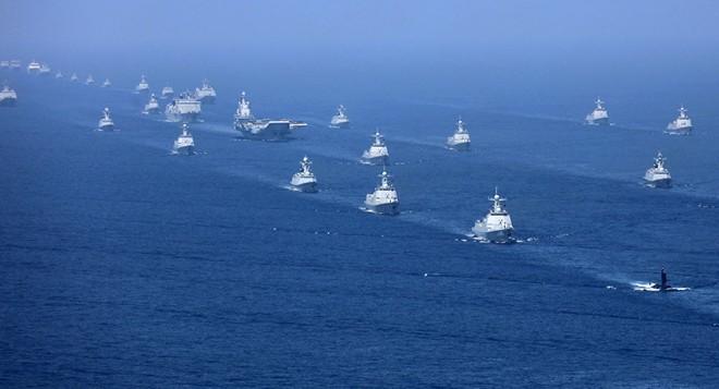 Trung Quốc liên tiếp tăng cường hiện diện quân sự gần eo biển Đài Loan