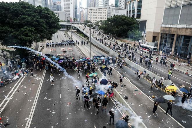 Hồng Kông đã trải qua nhiều tháng biểu tình bạo lực