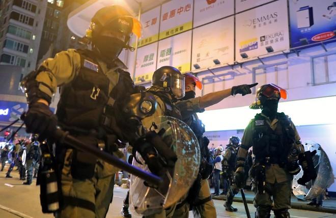 Cảnh sát Hồng Kông đã có nhiều tháng làm việc vất vả