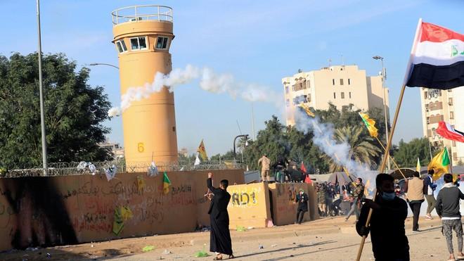 Mỹ cáo buộc Iran xúi giục biểu tình ở Đại sứ quán của nước này tại Baghdad