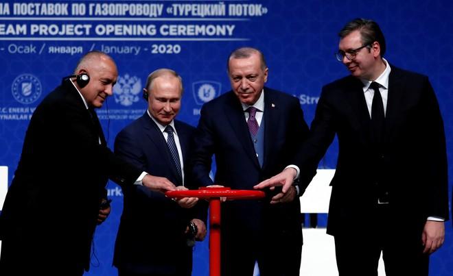 Dòng chảy Thổ Nhĩ Kỳ sẽ đưa khí đốt Nga đến khu vực Nam Âu