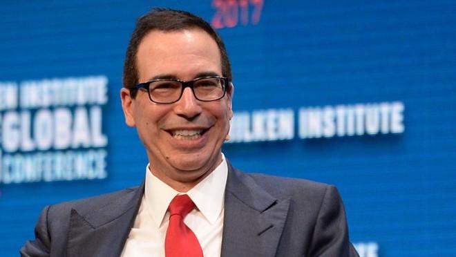 Bộ trưởng Mnuchin tự tin với thỏa thuận thương mại giữa Mỹ và Anh