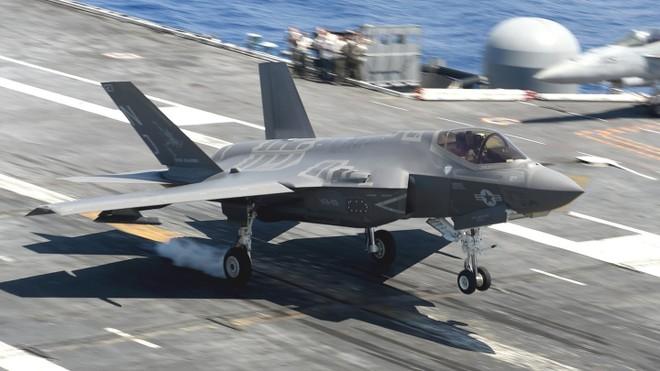 Tiêm kích F-35C được thiết kế để hoạt động trên tàu sân bay