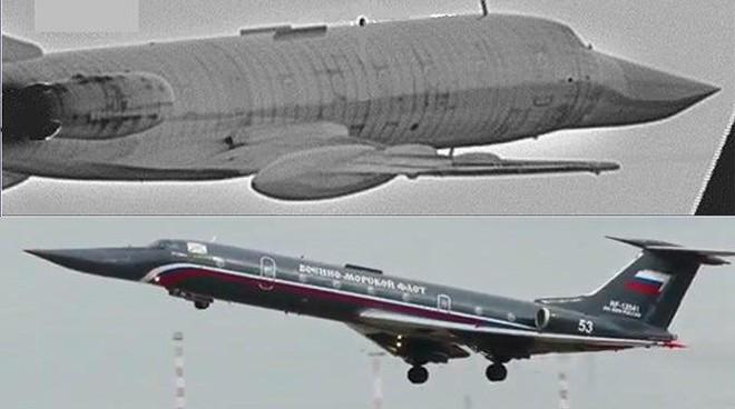 Hình ảnh chiếc Tu-134UBL không quân Bỉ chụp được