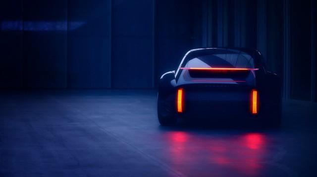 Bộ đèn hậu ấn tượng của Hyundai Prophecy