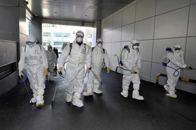 Số ca nhiễm Covid-19 tăng mạnh tại Hàn Quốc chỉ trong ít ngày