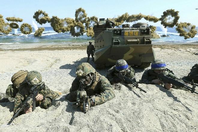 Hoạt động của quân đội Mỹ và Hàn Quốc bị ảnh hưởng bởi dịch Covid-19