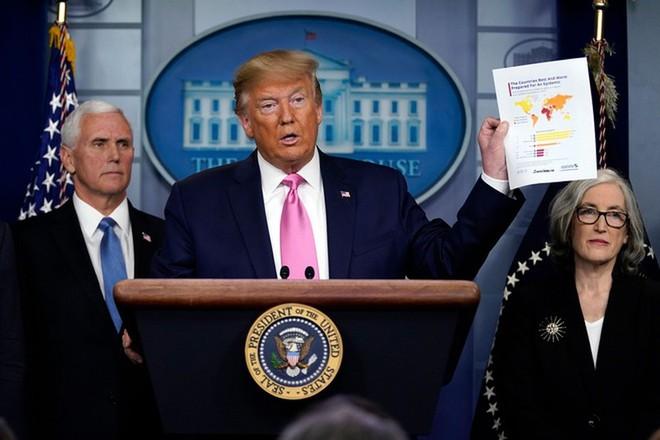 Tổng thống Donald Trump khẳng định Mỹ chuẩn bị ứng phó rất tốt với dịch Covid-19