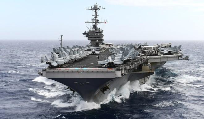 Một số tàu chiến hải quân Mỹ sẽ được cách ly 14 ngày trên Thái Bình Dương