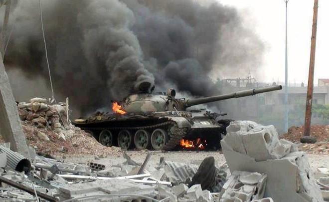 Thổ Nhĩ Kỳ khẳng định đã phá hủy được nhiều khí tài quân sự của Syria