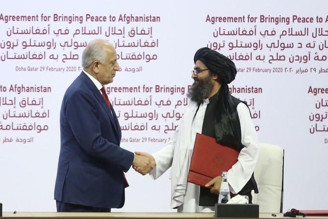 Mỹ và Taliban đã kí thỏa thuận hòa bình vào hôm 29-2