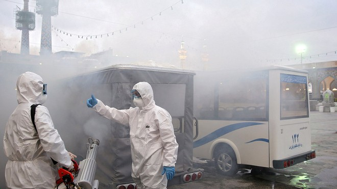 Iran đang là một trong những nước bị ảnh hưởng nặng nề nhất của dịch Covid-19