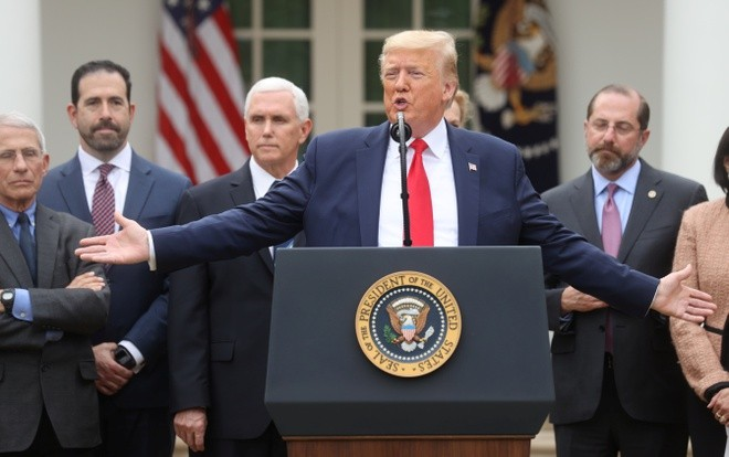 Tổng thống Donald Trump đã ban hành các biện pháp mới nhằm ngăn chặn dịch Covid-19