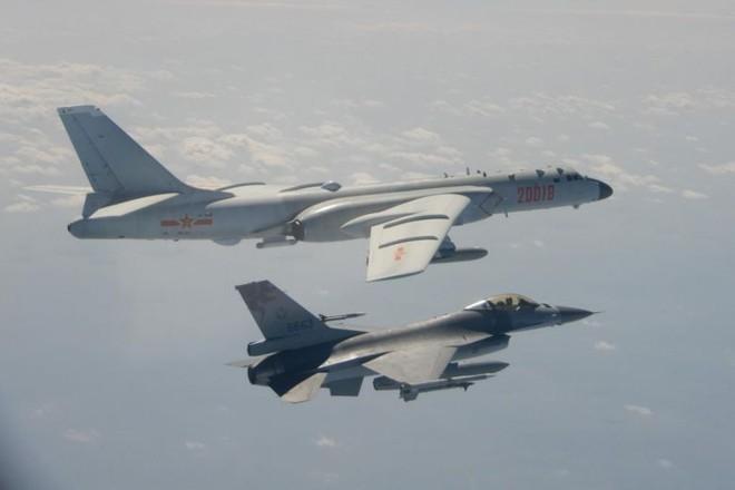 Máy bay Trung Quốc thường xuyên xuất hiện gần vùng lãnh thổ Đài Loan