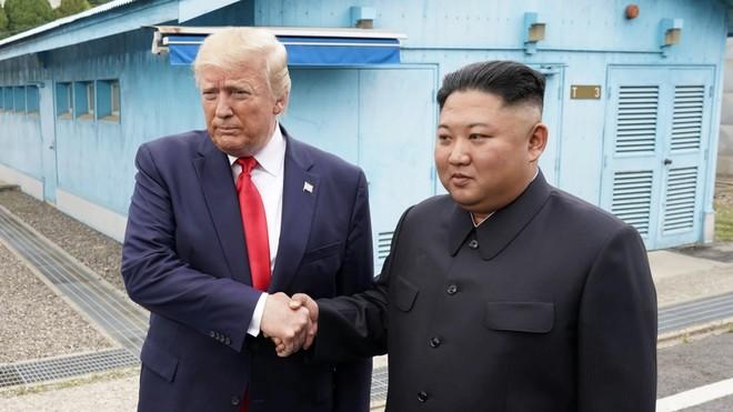 Tổng thống Donald Trump giữ mối quan hệ tốt với ông Kim Jong-un