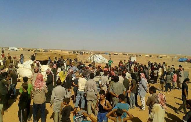 Trại tị nạn Rukban được Mỹ bảo vệ có tới 25.000 người