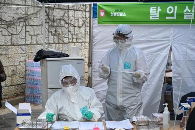 Hàn Quốc đang tiến hành xét nghiệm trên diện rộng bệnh nhân nhiễm Covid-19