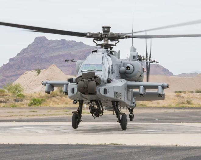 Apache là một trong những máy bay trực thăng tấn công mạnh mẽ nhất hiện nay