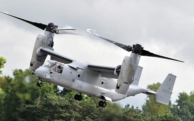Nhật Bản là nước ngoài đầu tiên mua máy bay V-22 Osprey của Mỹ