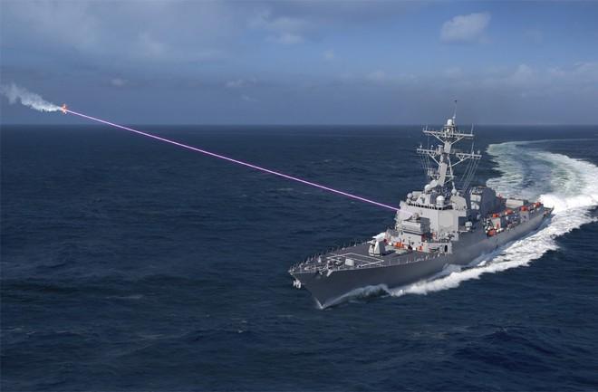 Mỹ đang dẫn đầu thế giới về công nghệ vũ khí laser