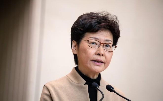 Bà Carrie Lam nằm trong danh sách trừng phạt mới của Mỹ