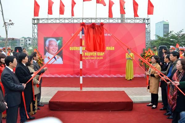 Gắn biển 3 tuyến đường mang tên danh nhân Võ Chí Công, Võ Văn Kiệt và Đại tướng Võ Nguyên Giáp ảnh 6
