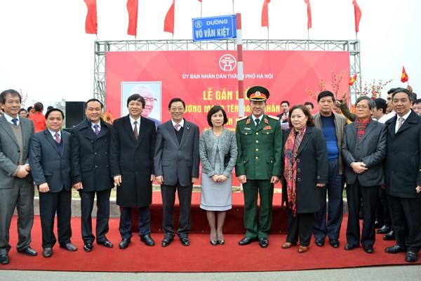 Gắn biển 3 tuyến đường mang tên danh nhân Võ Chí Công, Võ Văn Kiệt và Đại tướng Võ Nguyên Giáp ảnh 4