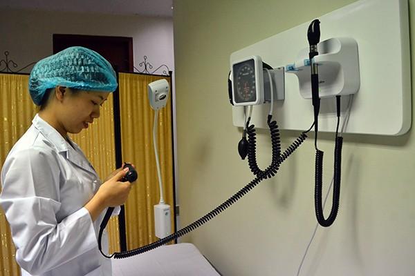 Bệnh viện Nhi Trung ương khánh thành khoa khám bệnh hiện đại ảnh 5