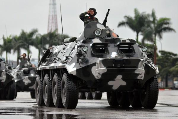 Phương tiện, khí tài hiện đại tham gia bảo vệ IPU 132 ảnh 8