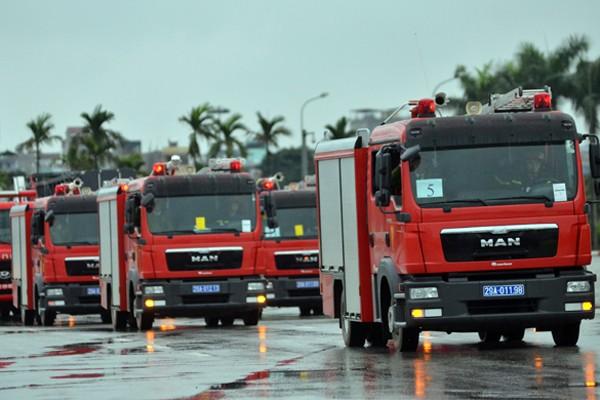 Phương tiện, khí tài hiện đại tham gia bảo vệ IPU 132 ảnh 14