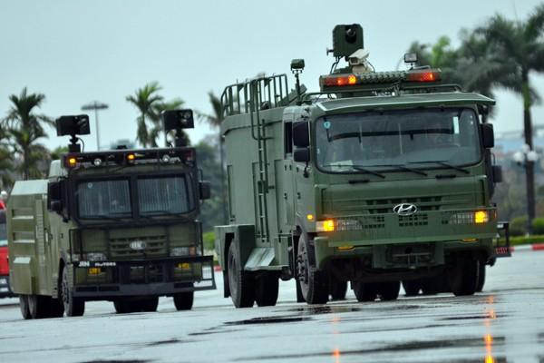 Phương tiện, khí tài hiện đại tham gia bảo vệ IPU 132 ảnh 15