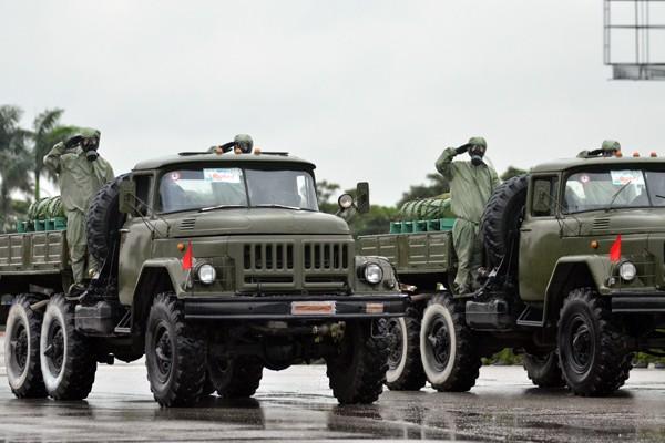 Phương tiện, khí tài hiện đại tham gia bảo vệ IPU 132 ảnh 17