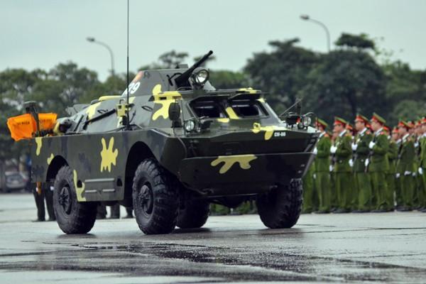 Phương tiện, khí tài hiện đại tham gia bảo vệ IPU 132 ảnh 18