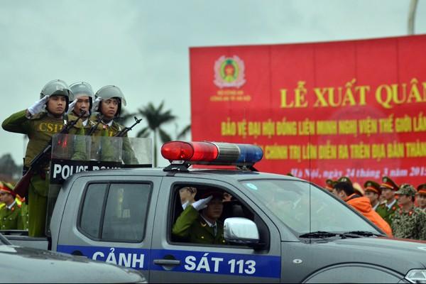 Phương tiện, khí tài hiện đại tham gia bảo vệ IPU 132 ảnh 21