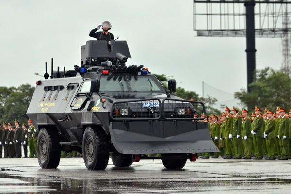 Phương tiện, khí tài hiện đại tham gia bảo vệ IPU 132 ảnh 6