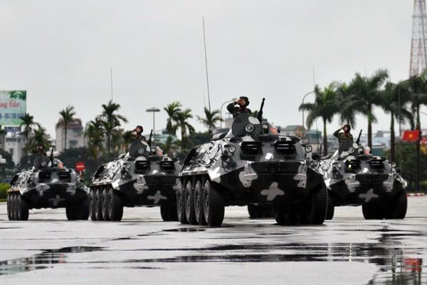Phương tiện, khí tài hiện đại tham gia bảo vệ IPU 132 ảnh 7
