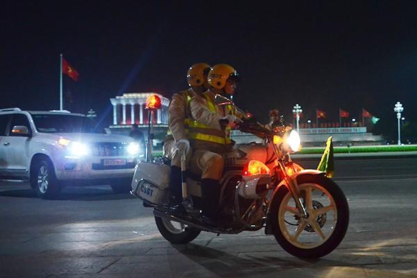 Xem Công an Hà Nội dẫn đoàn, đảm bảo an ninh Lễ Khai mạc IPU 132 ảnh 5