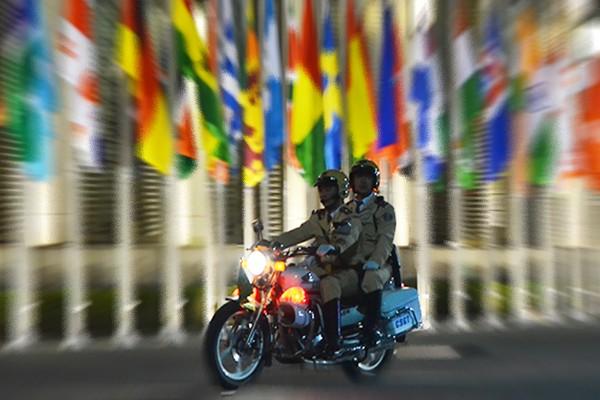 Xem Công an Hà Nội dẫn đoàn, đảm bảo an ninh Lễ Khai mạc IPU 132 ảnh 2