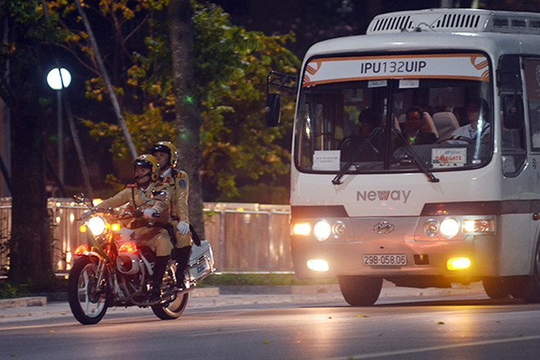 Xem Công an Hà Nội dẫn đoàn, đảm bảo an ninh Lễ Khai mạc IPU 132 ảnh 6