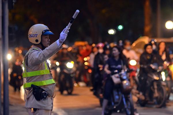 Xem Công an Hà Nội dẫn đoàn, đảm bảo an ninh Lễ Khai mạc IPU 132 ảnh 7