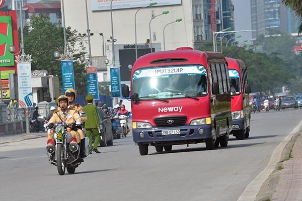 Xem Công an Hà Nội dẫn đoàn, đảm bảo an ninh Lễ Khai mạc IPU 132 ảnh 3
