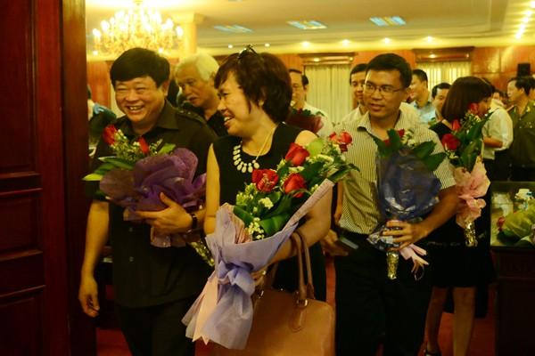 Chân tình buổi gặp mặt thân mật giữa CATP Hà Nội với lãnh đạo các cơ quan báo chí ảnh 12