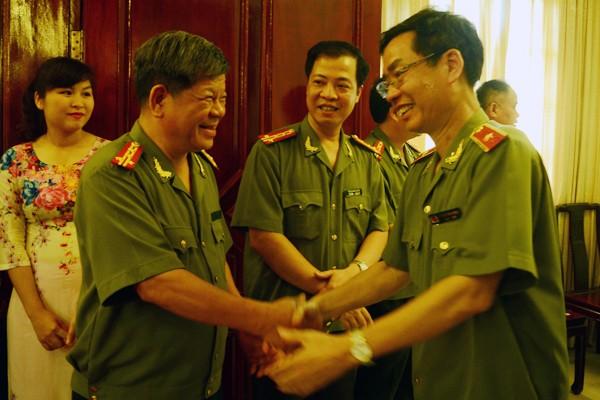 Chân tình buổi gặp mặt thân mật giữa CATP Hà Nội với lãnh đạo các cơ quan báo chí ảnh 9