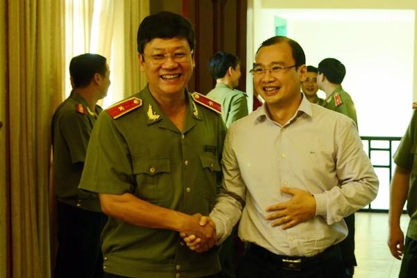 Chân tình buổi gặp mặt thân mật giữa CATP Hà Nội với lãnh đạo các cơ quan báo chí ảnh 8