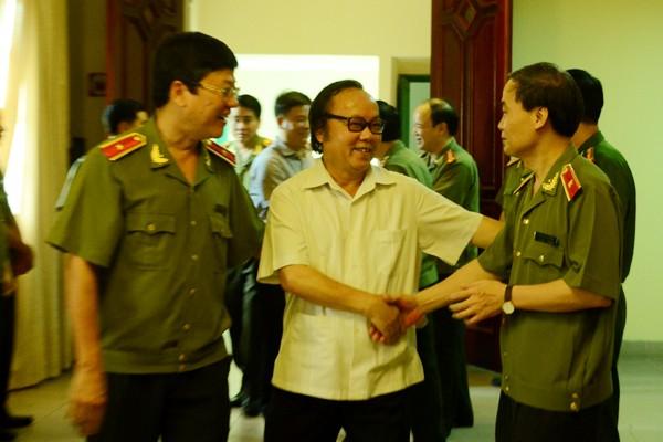 Chân tình buổi gặp mặt thân mật giữa CATP Hà Nội với lãnh đạo các cơ quan báo chí ảnh 7